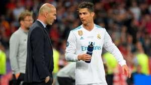 Cristiano Ronaldo Zinedine Zidane Real Madrid Liverpool UCL
