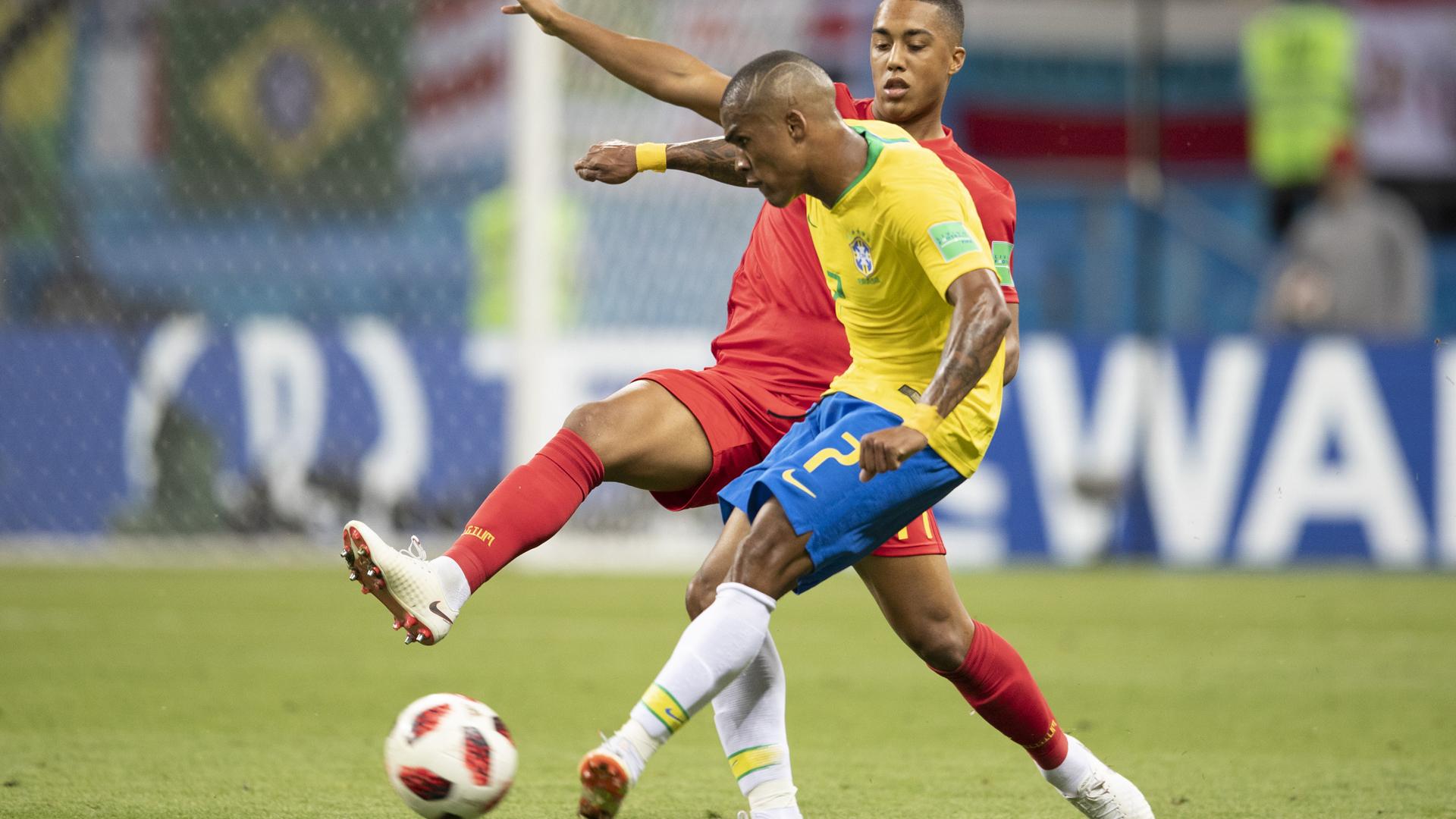 Douglas Costa Brasil x Bélgica Copa do Mundo 06 07 18