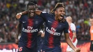 Christopher Nkunku Stanley N'Soki PSG Monaco 04082018