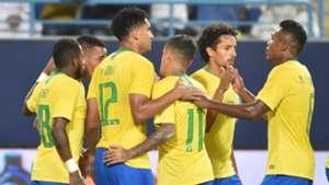 Brazil celebrate 2018