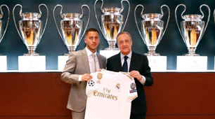 Eden Hazard Florentino Pérez