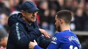 Hazard Sarri Chelsea
