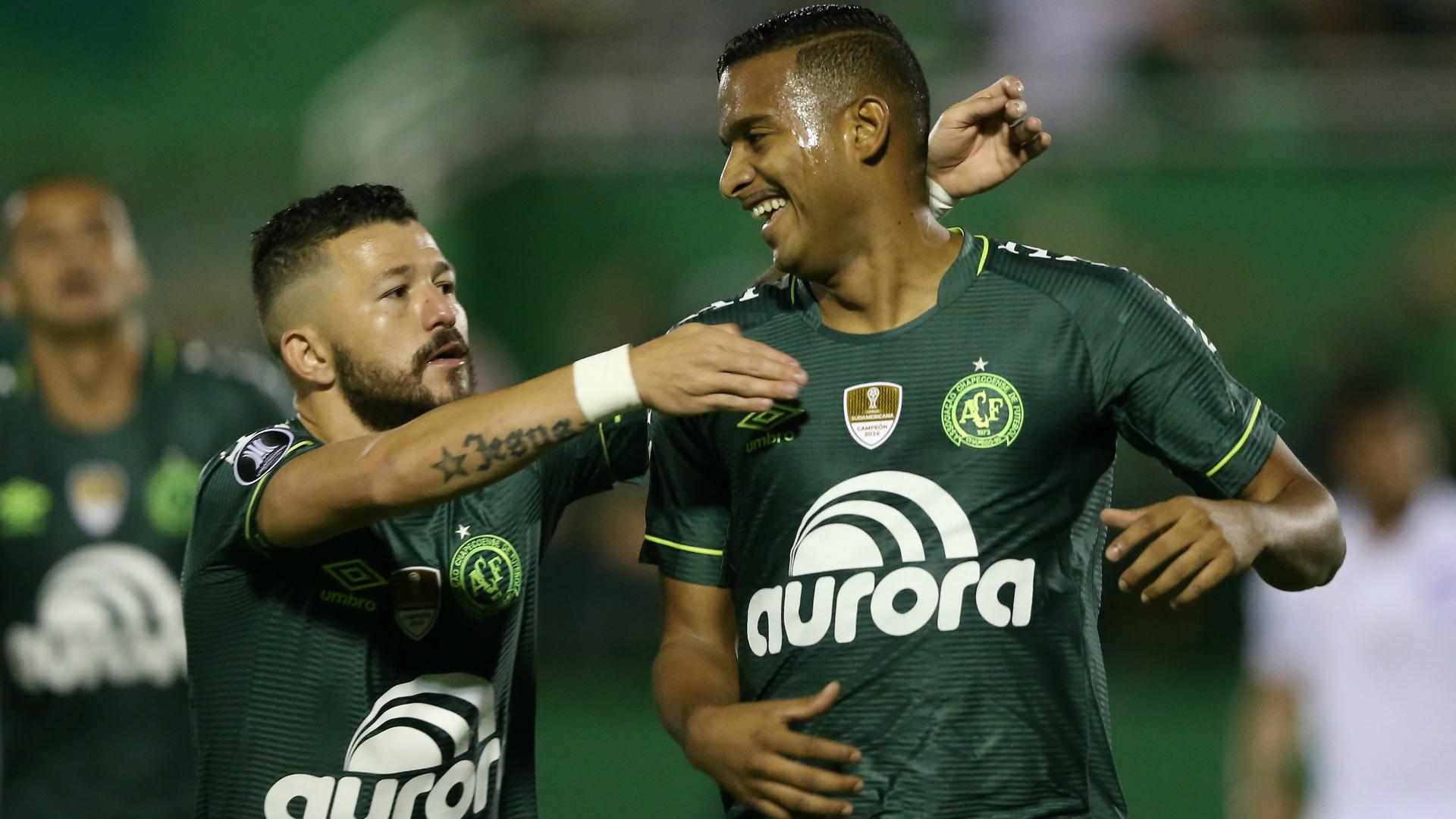 Reinaldo Rossi Chapecoense Nacional Copa Libertadores