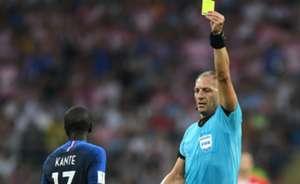 Kante Nestor Pitana France Croatia World Cup 2018 Final 15072018