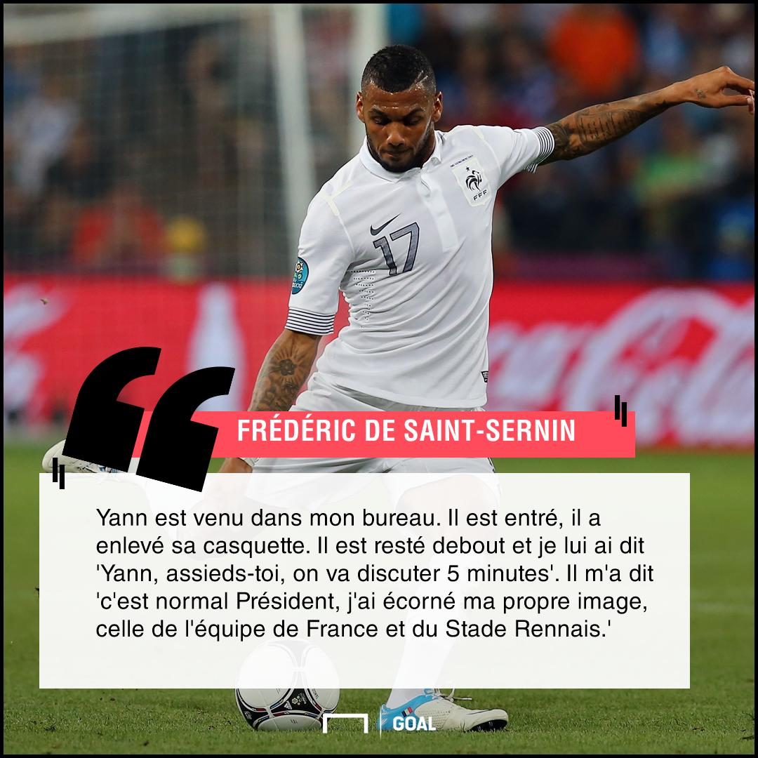 Yann M'Vila PS Rennes