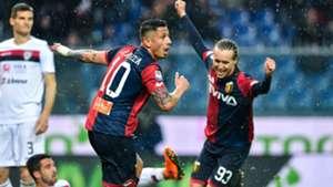 Gianluca Lapadula Diego Laxalt Genoa Cagliari Serie A