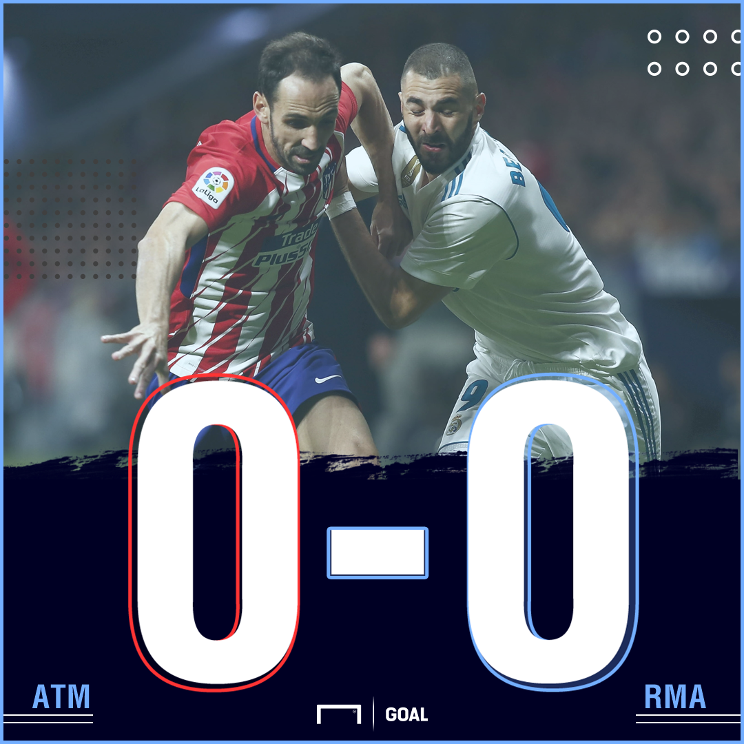 Madrid derby score