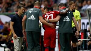 David Alaba FC Bayern Eintracht Frankfurt