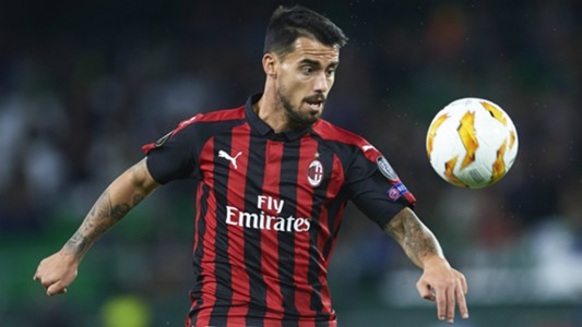 Suso Betis Milan Europa League