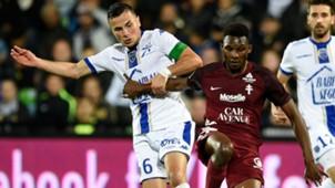 Opa Nguette Karim Azamoum Metz Troyes Ligue 1 23092017