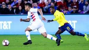 Tyler Adams Jhojan Julio USA Ecuador 2019