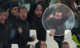 Bale celebración Juventus - Real Madrid