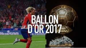 Antoine Griezmann Ballon d'Or 2017