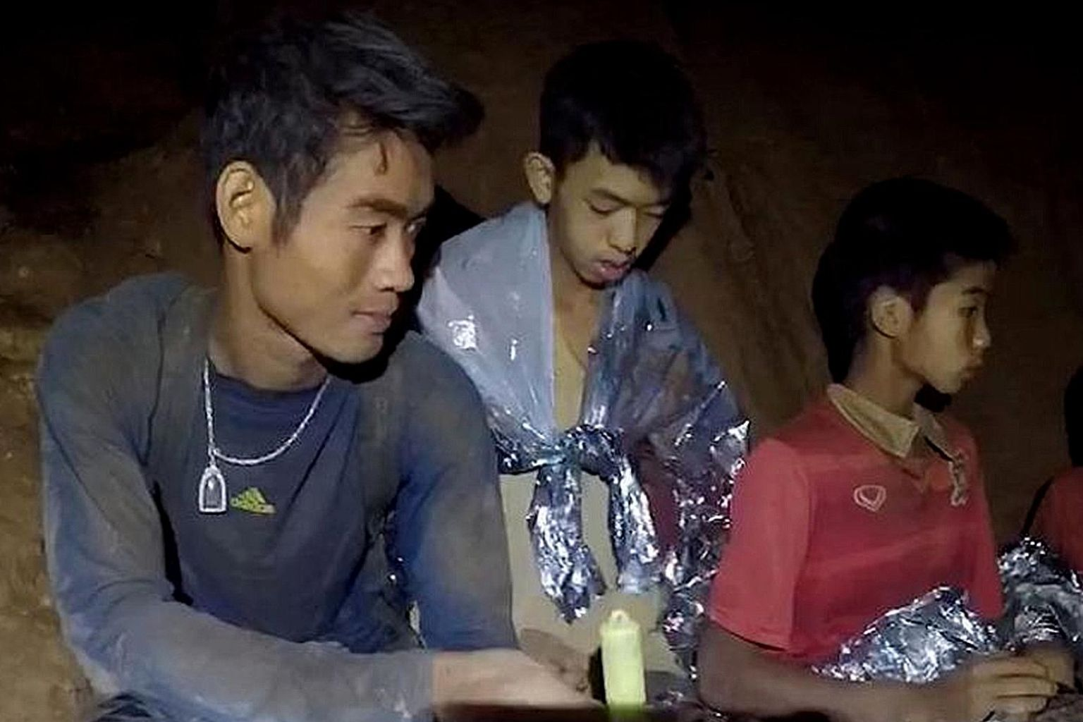 Thailand Cave Boy