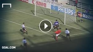 Bergkamp Niederlande Argentinien 1998