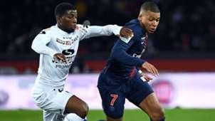 Kylian Mbappé Cheikh Traore PSG Guingamp Ligue 1 09012018
