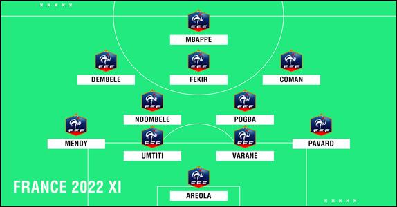 France 2022 XI PS