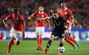 Nemanja Matic vs. Benfica