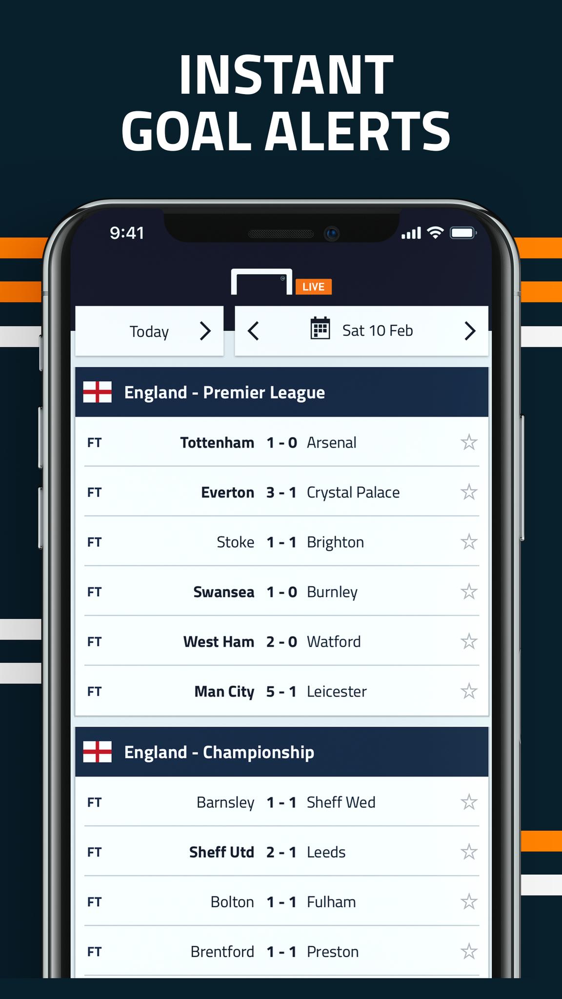 Live football scores match statistics dating