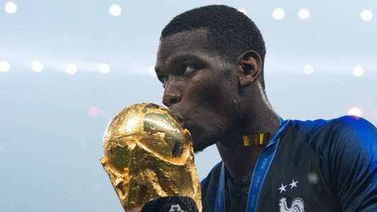 Paul Pogba France 2018 World Cup