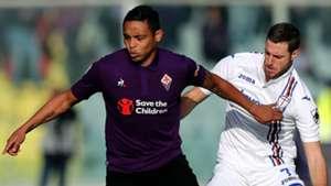 Muriel Sala Fiorentina Sampdoria