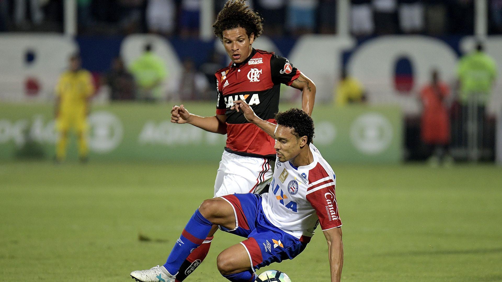 Willian Arao Edigar Junio Flamengo Bahia Brasileirao Serie A 19102017