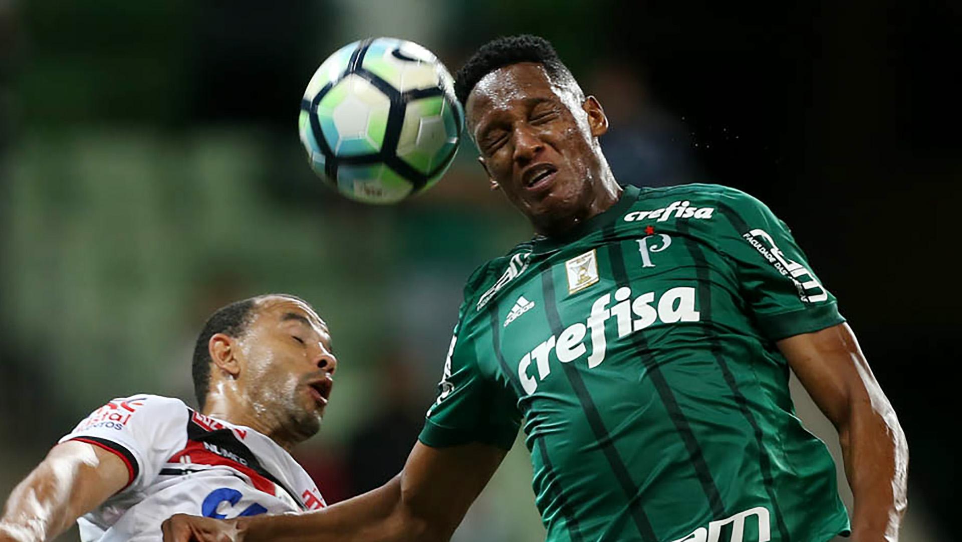 Yerry Mina Palmeiras Atletico-GO Brasileirao Serie A 22062017