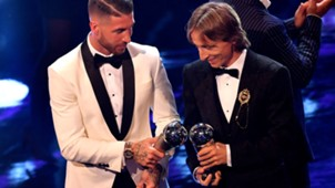 Sergio Ramos Luka Modric The Best FIFA 2018