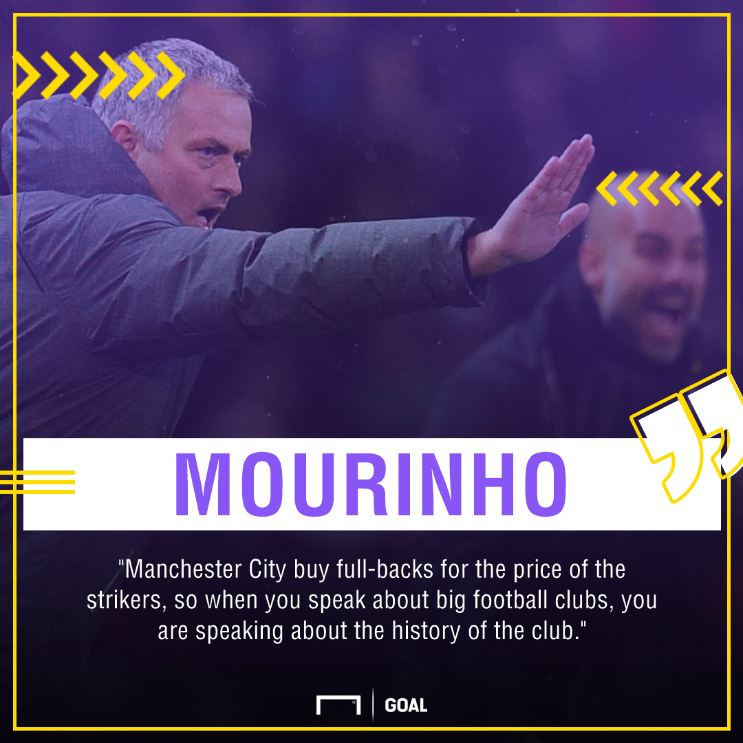 Jose Mourinho Man City PS