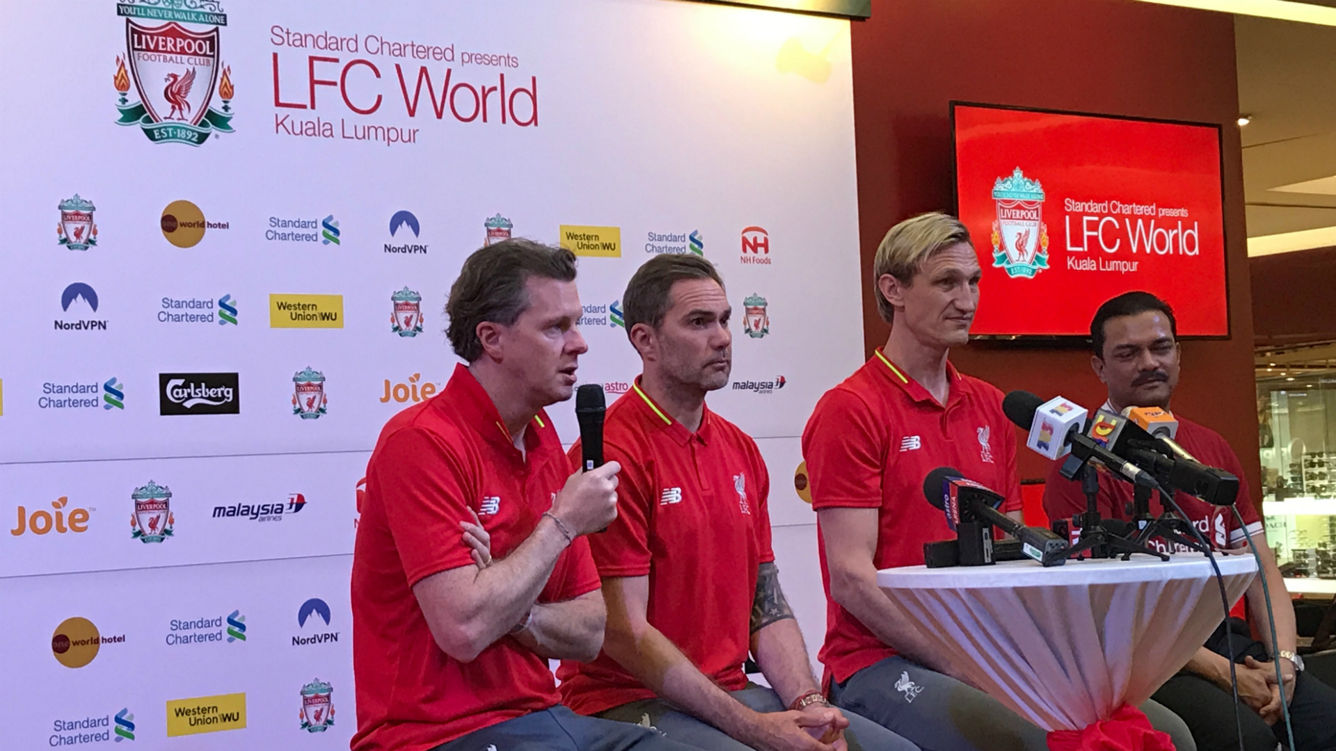 Steve McManaman, Liverpool, LFC World tour