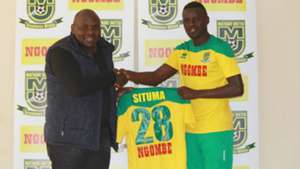 James Situma signs for Mathare United.