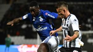 Ibrahima Sissoko Pierrick Capelle Angers Strasbourg Ligue 1 06102018