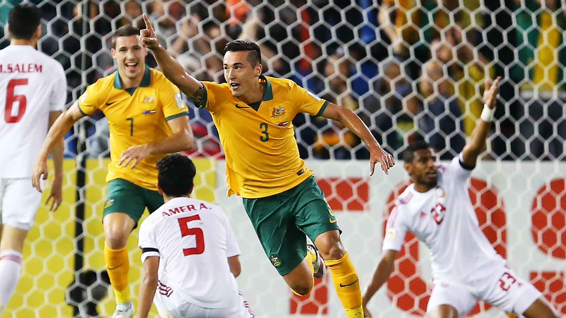 Jason Davidson Australia UAE Asian Cup
