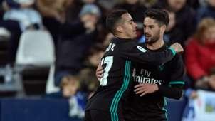 Vazquez Isco Real Madrid Leganes