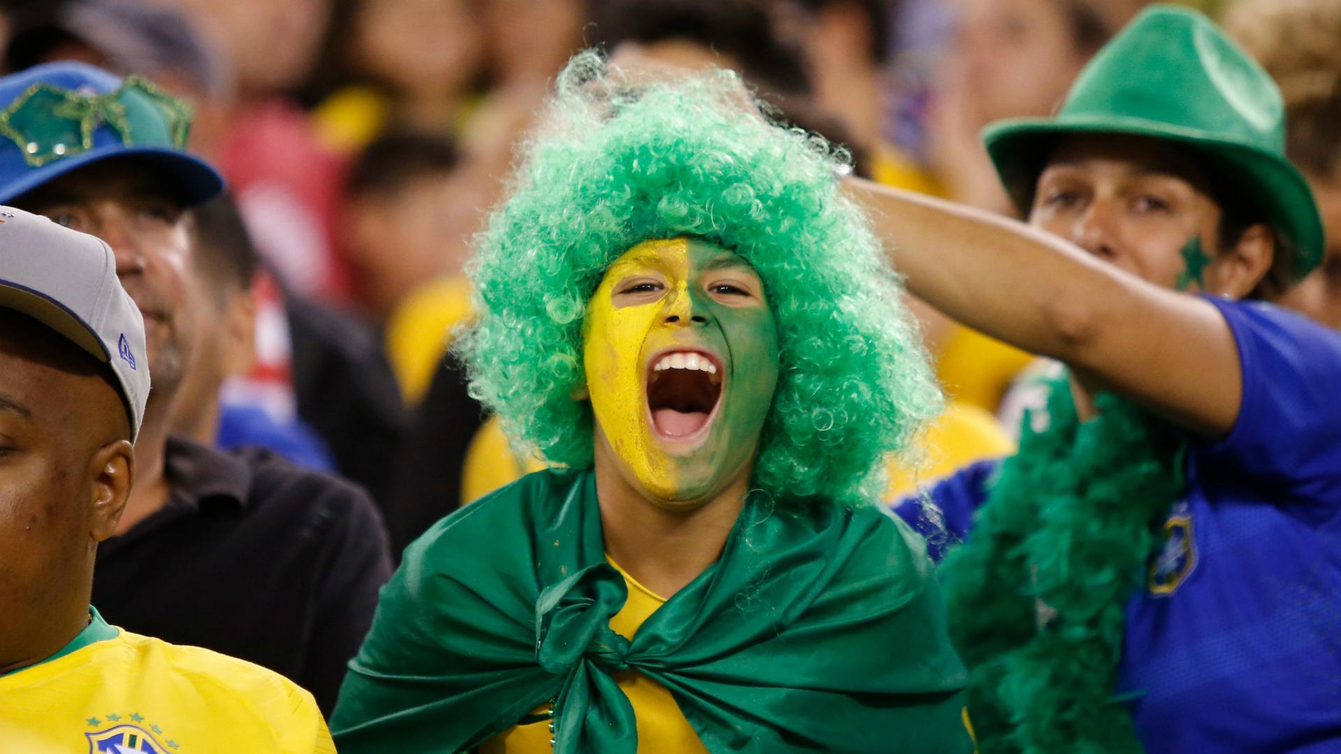 Brazil fan USA 07092018