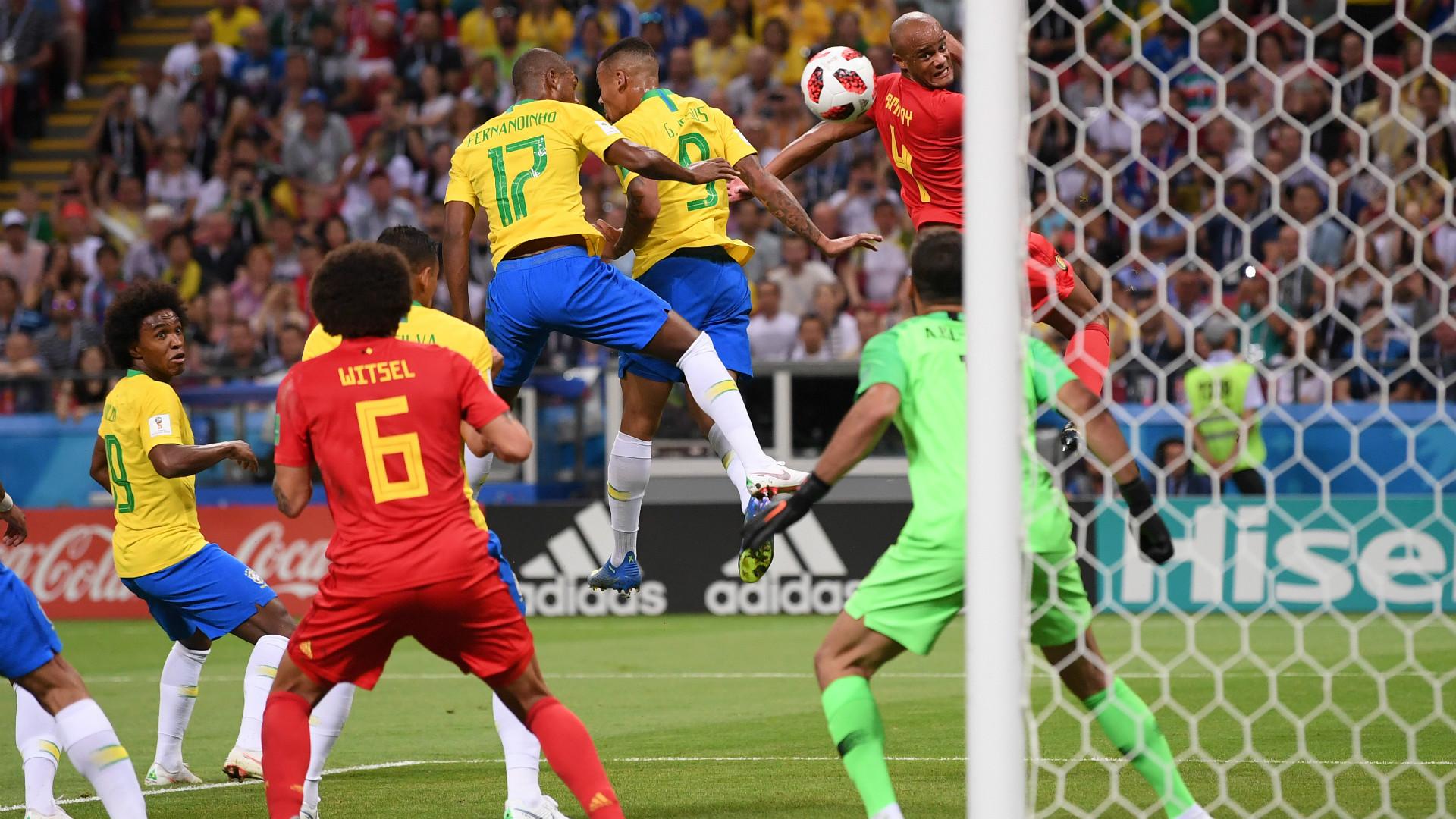 Fernandinho Brazil Belgium World Cup 06072018
