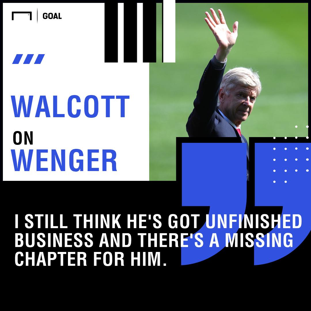 GFX Walcott on Wenger
