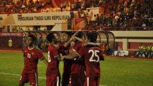Selebrasi Gol Timnas Indonesia