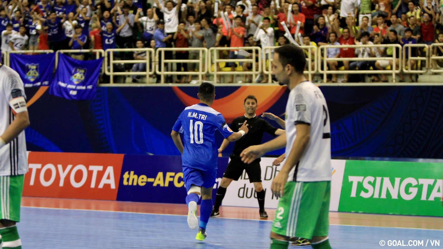 2017 AFC Futsal Club Championship | Thai Son Nam (Vietnam) 4-0 Nafit Al-Wasat (Iraq)