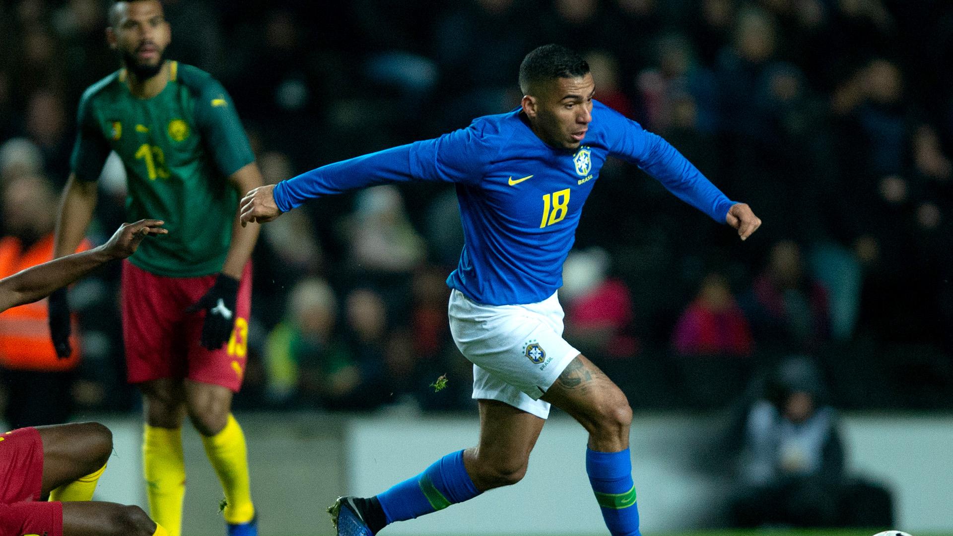 Allan Brazil Cameroon Friendly 20112018