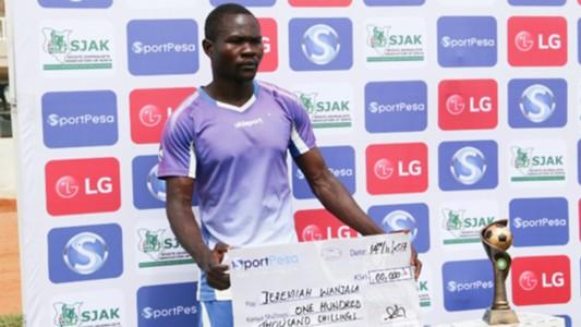 Jeremiah Wanjala of Kakamega Homeboyz.