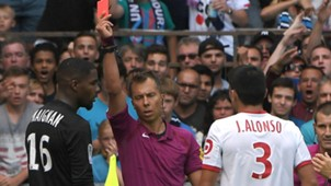 Mike Maignan Strasbourg Lille Ligue 1 08132017