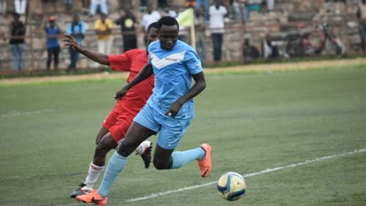 Burundian AFC Leopards striker Hakizimana Alexis Kitenge