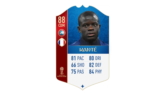 FIFA 18 World Cup France Kante