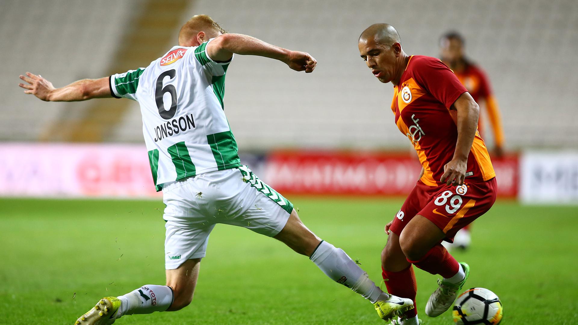 Sofiane Feghouli Jonsson Konyaspor Galatasaray 10142017