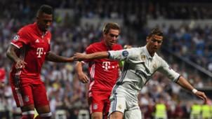 David Alaba Philipp Lahm Cristiano Ronaldo Real Madrid Bayern Munich UCL 18042017
