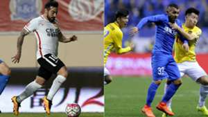 Lavezzi Tevez Superliga China