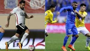Lavezzi Tevez Superliga China