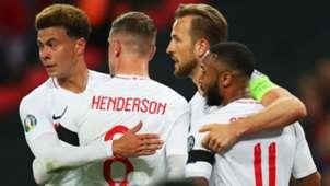 Harry Kane Raheem Sterling Jordan Henderson Dele Alli England Euro 2020 qualifying 22032019