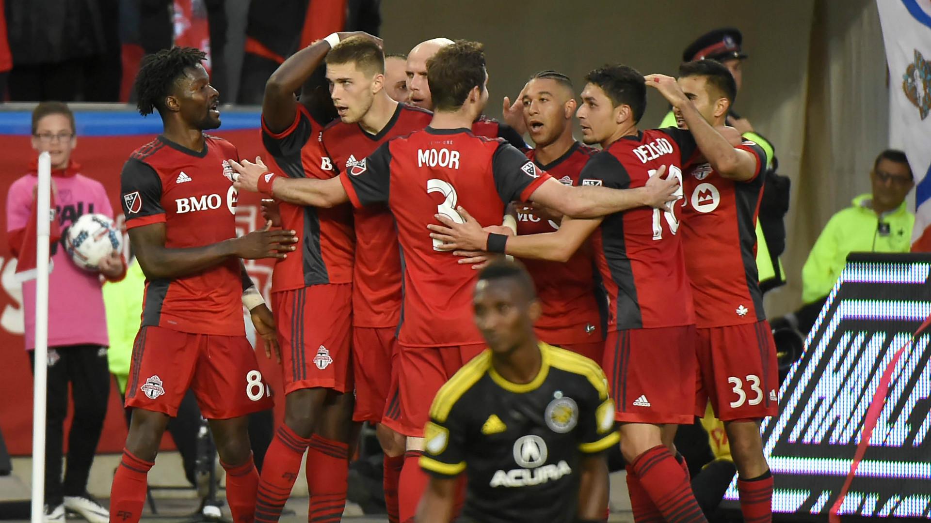 Toronto FC celebrate